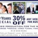 Get 30% Off ANY Web Video for YOUR Business!