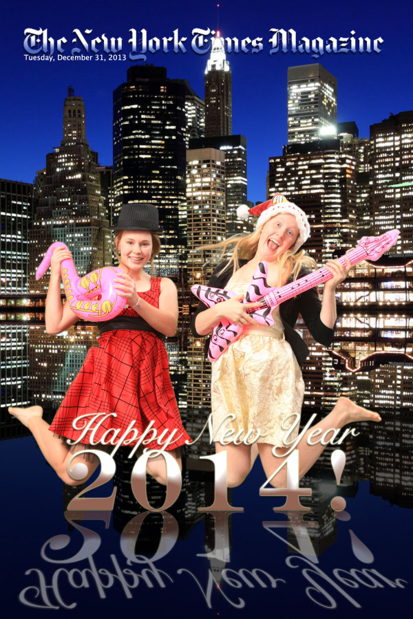 New Year's Eve Green Screen Photo Station at TPC at Wakefield